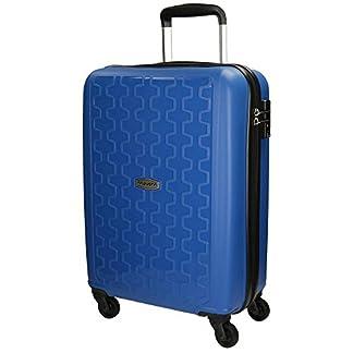 Movom Zig – Zag Equipaje de Mano, 55 cm, 35 Litros, Azul