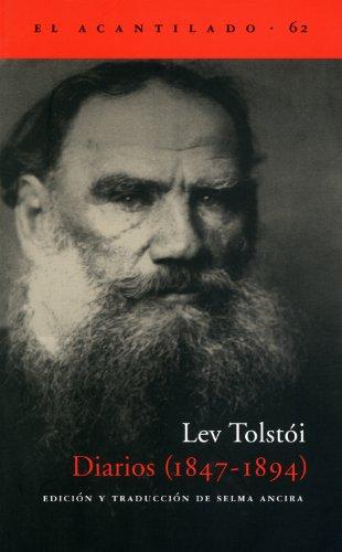 Diarios. 1847 - 1894 (El Acantilado) por Lev Tolstoi