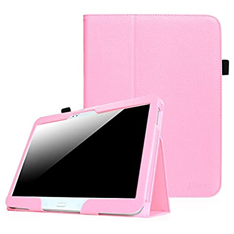 Fintie Samsung Galaxy Tab 3 10.1 Hülle Case - Slim Fit Folio Bookstyle Kunstleder Schutzhülle Cover Tasche Auto Schlaf / Wach mit Standfunktion für Samsung Galaxy Tab 3 (10,1 Zoll) P5200 / P5210 Tablet, Rosa