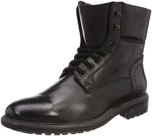 Calpierre Herren PT79-I Biker Boots, Schwarz (Nero Nero), 44 EU