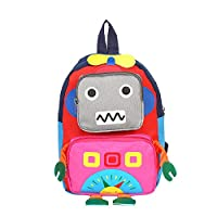 Falary Kindergarten Backpack Robot Children