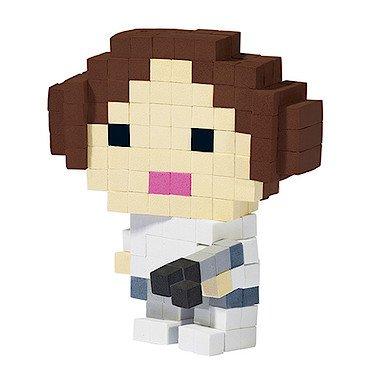 Pixel Pops – Star Wars – Princess Leia – Personnage Pixel 3D à Construire
