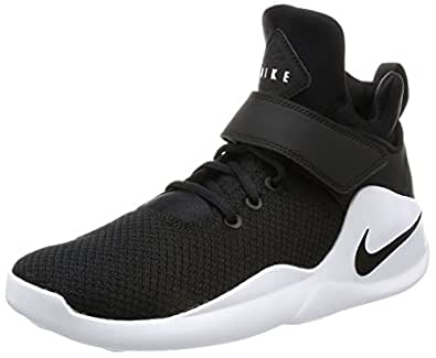 ... Nike Unisex BlackBlack-White Sports Shoes -1