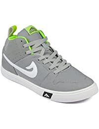 Asian shoes SKYPY-31 Grey P Green Men Casual Shoes