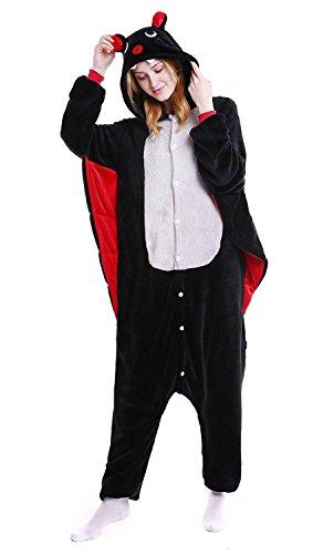 ABYED® Kostüm Jumpsuit Onesie Tier Fasching Karneval Halloween kostüm Erwachsene Unisex Cosplay Schlafanzug- Größe XXL -for Höhe 182-190CM, - Niedliche Kleine Mädchen Kostüme Für Halloween