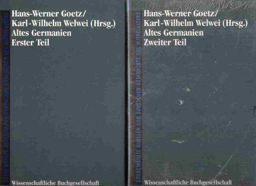 Altes Germanien /Die Germanen in der Völkerwanderung: Altes Germanien, 2 Tle.: Bd a