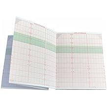 Paquete plegado de papel térmico para CTG compatible con Edan Cadence MFM-2 M50-78019