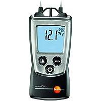 Testo 0560 6060 606-1 - Higrómetro digital de mano para madera y materiales (con tapa protectora, protocolo de calibración y pilas)