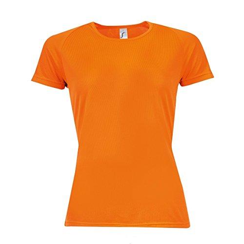 Sols Sporty Damen T-Shirt, Kurzärmlig Aqua