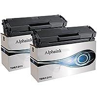 Alphaink AI-KIT2-MLT-D111L Cartuccia di toner laser, 1800 Copie, Nero, Confezione da 2 pezzi