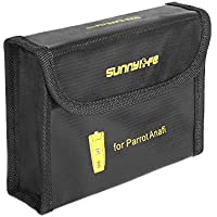 Hensych Battery Protective Case Explosion-proof Storage Bag LiPo Safety Bag for Parrot ANAFI Batteries
