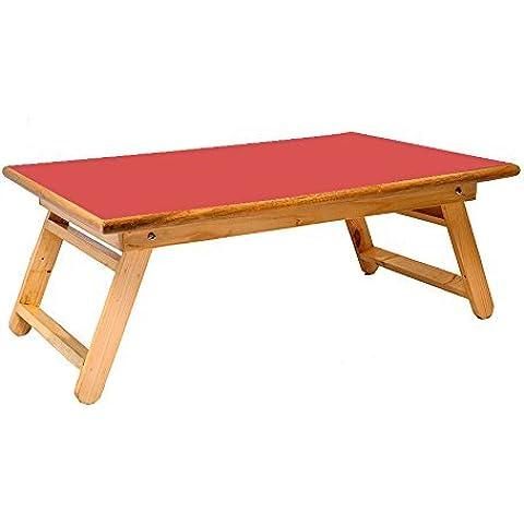 Home Muebles de madera–Mesa plegable Bandeja de Cama Bandeja De Desayuno Mesa/TV sobrecama/Tablet Ordenador Portátil Mesa/estudio de soporte para estudiantes/cama de hospital tray-