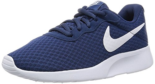 Nike Damen 812655 Sneakers, Blau (Navy/White), 39 EU