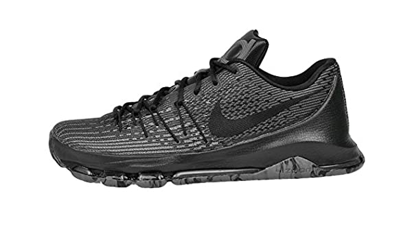 7337c24193d Nike Mens Kevin Durant KD 8 VII Blackout Basketball Shoes Black Cool Grey  749375-001 Size 8  Buy Online at Low Prices in India - Amazon.in