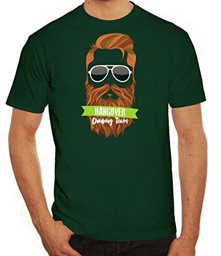 Saint Patrick's Day St. Patricks Day Herren T-Shirt Hangover Drinking Team Dunkelgrün