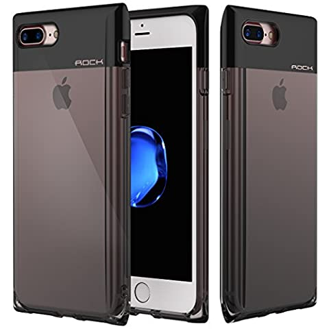 iPhone 7 Plus Case, ROCK Perfume Bottle Series Cellphone Cover,[Stylish][Girl Use][Shockproof][PC+TPU][Transparent][Drop Protection]for Apple iPhone 7 (Serie Bottiglia Di Profumo)