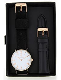BLACK OAK Reloj con movimiento cuarzo japonés Man BX5680RSET-127 40 mm