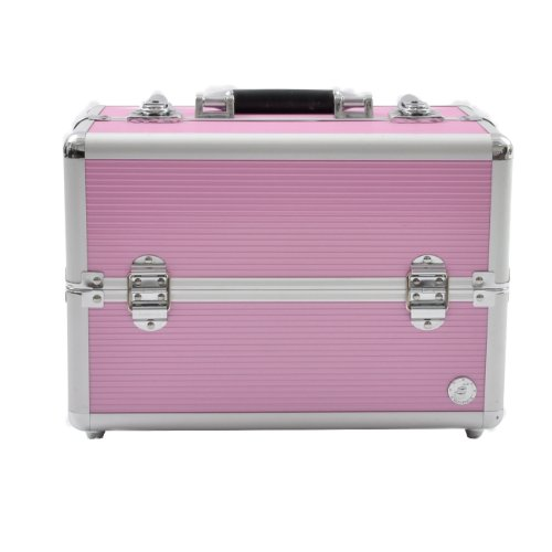 Beauty Box Schminkkoffer San Remo Beauty Case, rosa