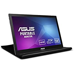 "Asus MB169B+ - Ecran PC Portable 15,6"" FHD - Alimentation et Affichage via USB Type-A - Dalle IPS - 1920 x 1080 - PS4 Raspberry Pi Xbox - 200cd/m²"