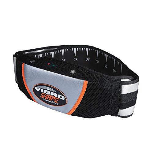 Vinteky® Cinturón Vibratorio para Masaje Auto Modelo 5 Niveles Cinturón para adelgazar Reductora de peso y Moldeadora para la cintura Ajustable para hombres y mujeres Recomendado adelgazante y masaje