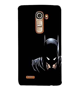 For LG G4 Mini :: LG G4c :: LG G4c H525N Cartoon, Black, Cartoon and Animation, Printed Designer Back Case Cover By CHAPLOOS