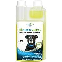Ecosharkz Geruchsneutralisierer für Hunde - natürlicher Geruchskiller - Hochleistungskonzentrat zum Entfernen von Urin-Geruch (ergibt 25 Liter gebrauchsfertig)