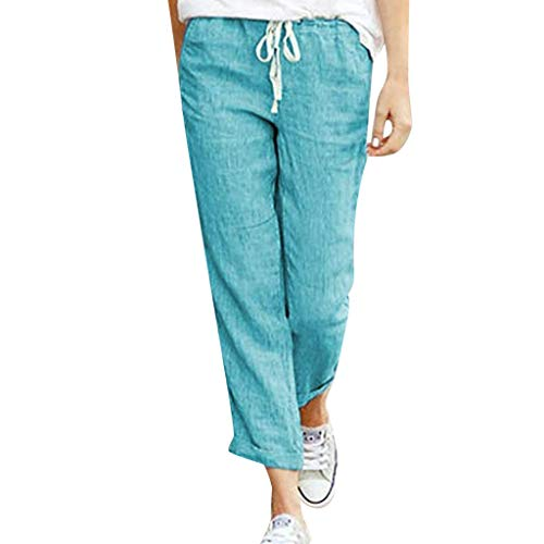 KaloryWee Pantalon Push-up en Denim Crayon Jeans Mom D/échir/é Taille Haute Bien Elastique Leggings de Yoga Stretch Slim Fit Mollet Bootcut 2019 Crayon avec Perle Bleu