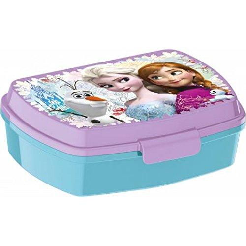 Disney Frosen ELSA und Anna - Brotdose / Lunchbox / Sandwich Box - Tolle Geschenkidee für Kinder
