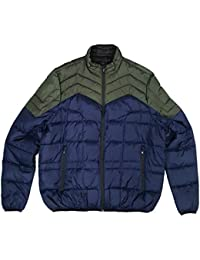 60a54668b1 Amazon.it: taglie forti uomo - Blu / Giacche e cappotti / Uomo ...