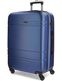 Movom Matrix Maletas y trolleys, 79 cm, 110 litros, Azul