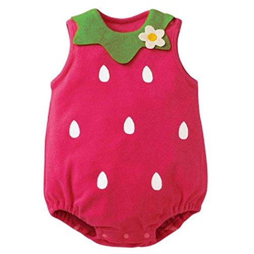 Bekleidung Longra Schöne Neugeborene Kinder Baby Junge Mädchen Baby Strampler Overall Bodysuit Outfit Sommer ärmellos Kleidung (0 -12...