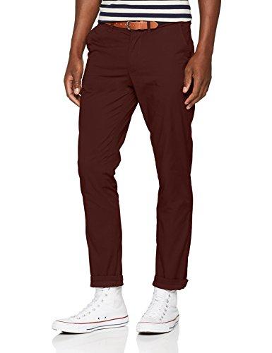SELECTED HOMME Herren SLHSLIM-Yard B. Chocolate Pants W NOOS Hose, Braun (Bitter), W32/L32 (Herstellergröße: 32) Homme Casual Pants