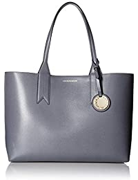 7467c28c5229 Emporio Armani Women s Shopping Tote With Money Pouch Shopping Tote With  Money Pouch