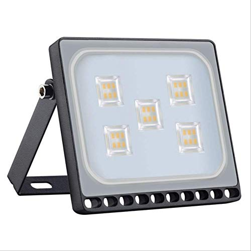 PMWLKJ Led Flutlicht 10w 20w 30w 50w Flutlicht Led Spotlight Außenbeleuchtung Projektor Reflektor Wandleuchte 30W LED Flutlicht Warmweiß -