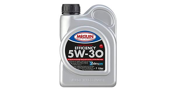 Meguin 3196 Megol Motoröl Efficiency Sae 5w 30 1 L Auto