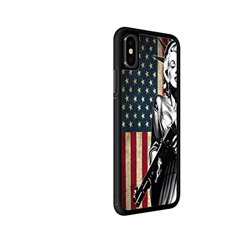 Marilyn Monroe Statue of Liberty Common TPU, iPhone XR