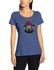 Columbia - Camiseta Unbearable de manga Corta Para Mujer, mujer, color Bluebell, tamaño M