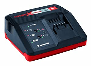 Einhell 4512020 Power X-Change Fast Charger for 1.5Ah, 3.0Ah and 5,2Ah Power X-Change Batteries