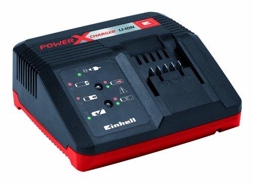 Einhell 4512020 Power X-Change Schnell-Ladegerät für 1,5 Ah, 3,0 Ah und 5,2 Ah Power X-Change Batterien -