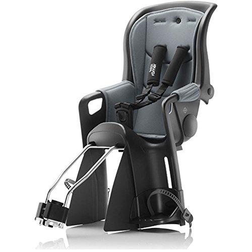 Britax Römer Jockey Relax Kindersitz mit 2 Bezügen schwarz/grau 2018 Fahrrad-Sitz Kinder Jugendliche Rad-Sitz