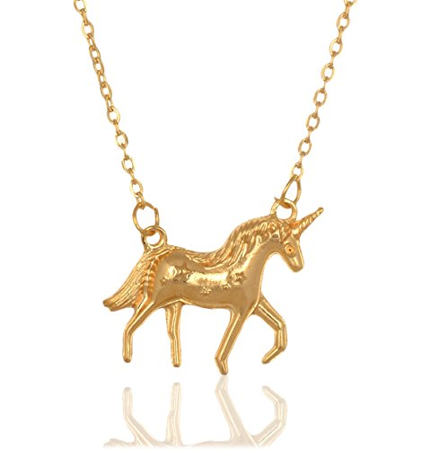 Accessorisingg Gold Unicorn Charn Pendant [PD222]