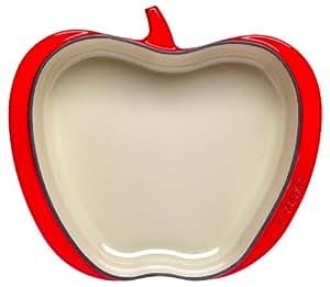 LeCreuset Apfel Auflaufform Kirschrot