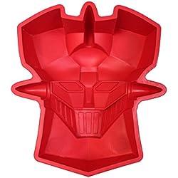 Molde para repostería, diseño Mazinger Z - Molde Horno Silicona Mazinger Z