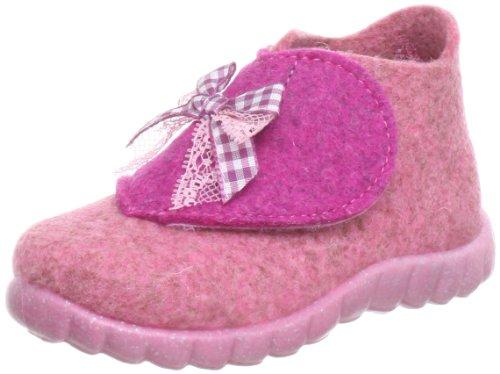 Superfit  Happy, Hi-Top Slippers fille Rose - Pink (rose kombi 61)