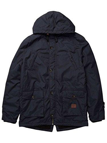 2016 Billabong Stafford Parka Jacket JUNGLE CAMO Z1JK18 Dunkelblau