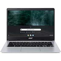 "Acer Chromebook CB314-1H-C5F4 Ordinateur portable 14"" HD Gris (Intel Celeron, 8 Go de RAM, 64 Go eMMC, Intel HD Graphics 600, OS Chrome)"