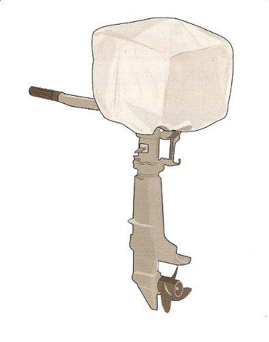 Abdeckhaube für Außenbordmotor Gr. XXS (Aussenbordmotor Abdeckung)