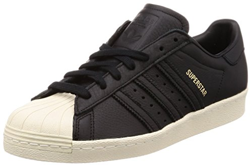 adidas Herren Superstar 80s Fitnessschuhe, Schwarz (Negbas/Verde/Rojsld 000), 48 2/3 EU -
