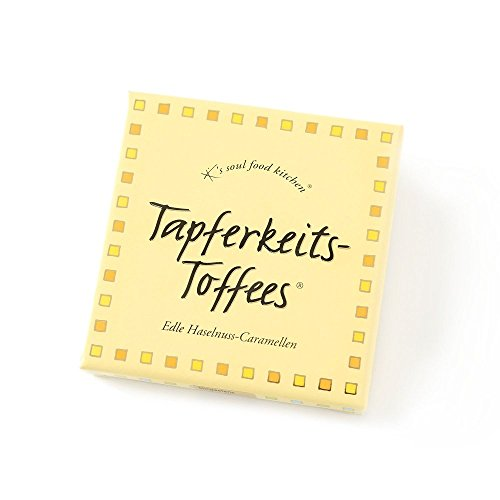 Hussel K's soul food kitchen - Tapferkeits-Toffees ' Edle Haselnuss-Caramellen, 80g