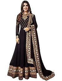 c6f2806b006946 Amazon.in  Anarkali - Salwar Suits   Ethnic Wear  Clothing   Accessories